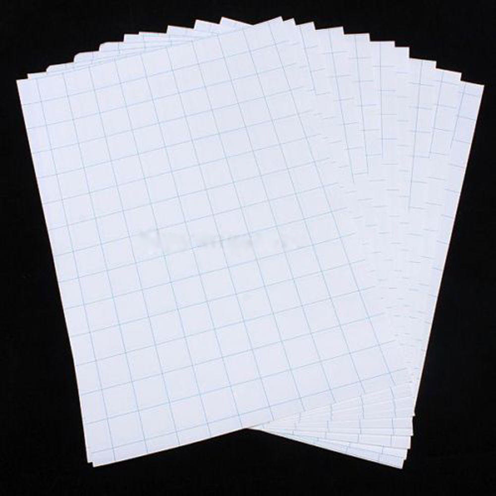 2020 New 10 Sheets A4 Iron On Inkjet Print Heat Transfer Paper for DIY Craft T-shirt