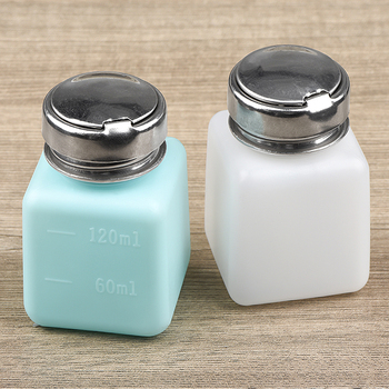 JCD soldering alcohol bottle 120ML Alcohol storage container high Tightness gas and liquid Storage container 180ml alcohol and liquid container bottle blue
