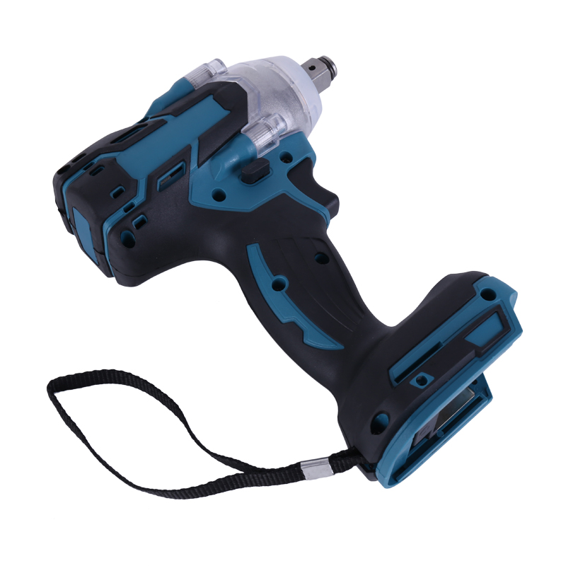 Brushless Electric Wrench Impact Socket Wrench 18V 520Nm for Makita Battery Hand Drill Installation 1 2 Socket Power Tool Wrench