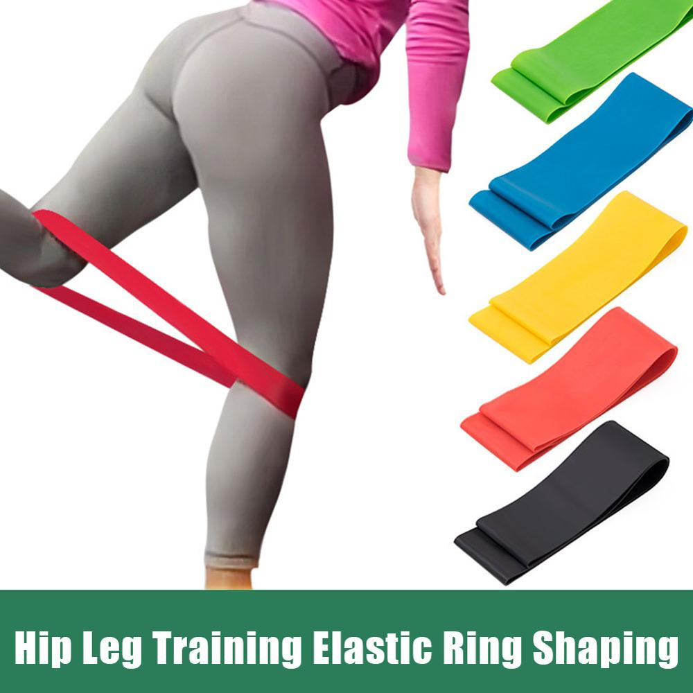5PCS Yoga Resistance Rubber Bands Fitness Equipment 0.4mm-1.1mm Pilates Sport Training Workout Elastic Band Gym Fitness Bands