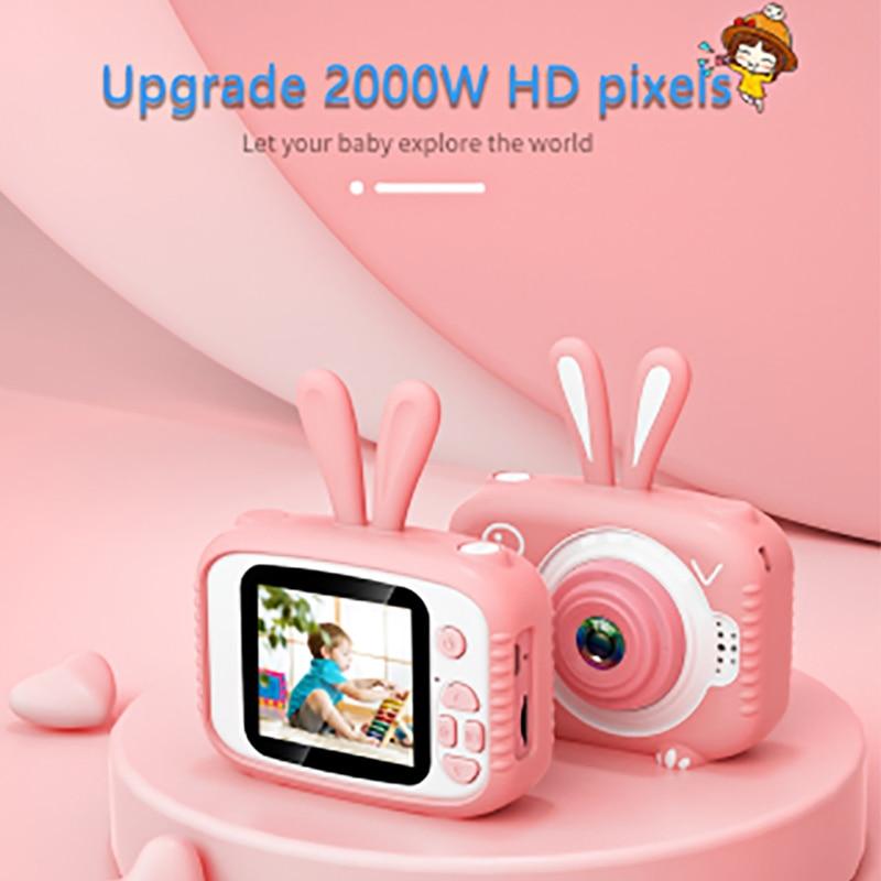 Cartoon Cute Children Mini Camera Kids Educational Toys For Children Birthday Gift Digital Camera 1080P Projection Video Camera