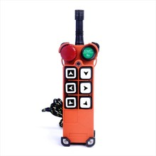 F21-E1 Universal Industry Radio Remote Controls Controller (2 transmitters 1 receiver) for Cranes / hoist controller f21 e1b include 2 transmitters 1 receiver 6 buttons 1 speed hoist crane remote control wireless radio uting remote controller
