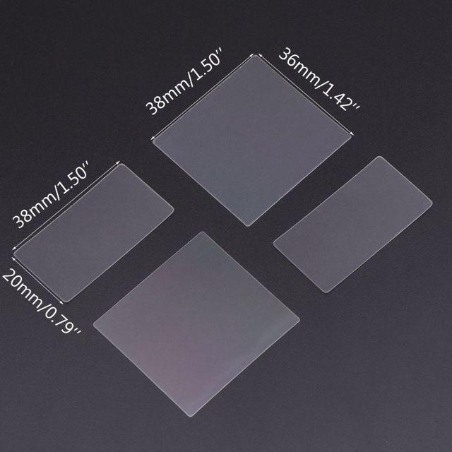 Фото 36x38 мм нано гравировка pet trasmission дифракционная решетка цена