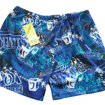 Swimming Trunks Printed Summer Men Boxer Swimming Trunks Hot Springs Swimwear Swimming Pool Disposable Swimming Trunks
