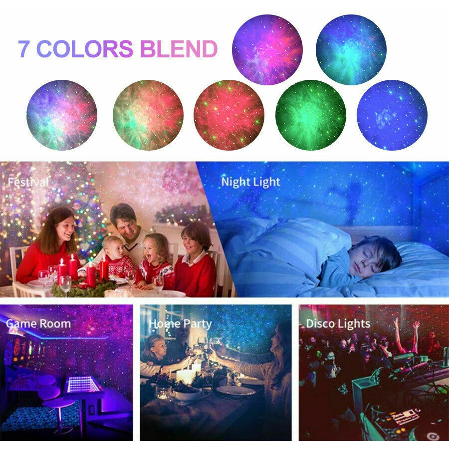 Starry Night Light Laser Projector For Kids 4