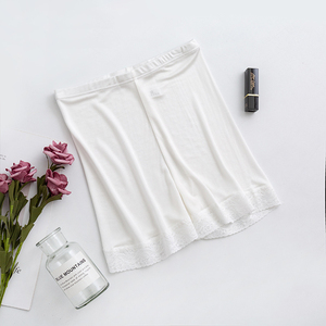Image 2 - Silk plus size woman panties underwear women lingerie majtki damskie bragas mujer boxer femme under skirt safety shorts pants