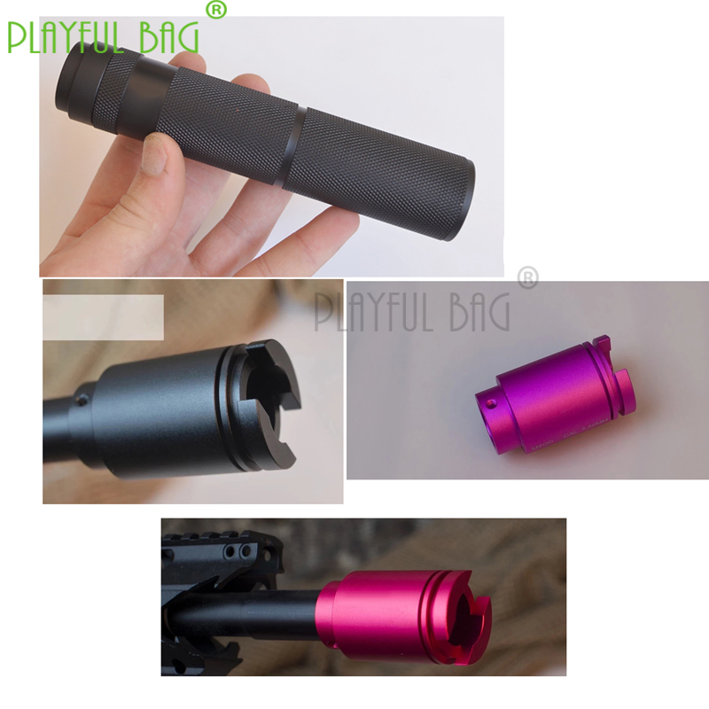 Outdoor Sports Interesting Tactical Equipment Silencer Water Bomb Compensator Modified Jinning9 TTM Gearbox Accessories Pd04