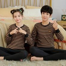 Teenages Pajamas Winter Cotton Pyjamas Kids Boys Clothes Sets Cartoon Children Sleepwear Pajamas for Girls 10 12 14 16 18 Year