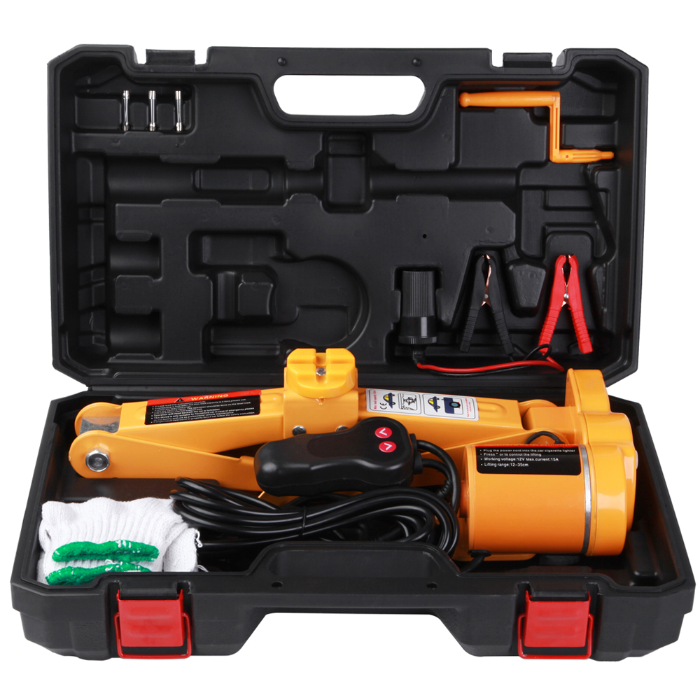 12V Electric Scissor-type Jack Car Electric Lift Jack Tire Remover Equipment Auto Repair Accessory