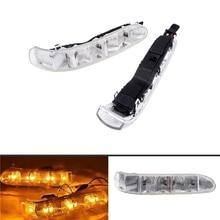 1 para lusterko samochodowe wskaźnik światła LED źródła światła włącz sygnał Auto dla mercedes benz CL S klasa W220/215 03 06