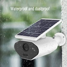 VS-L4 WIFI Waterproof Solar Camera Wireless Intelligent Security Surveillance Camera Night Vision Audio CCTV