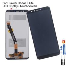 Оригинальный ЖК дисплей для Huawei Honor 9 lite, дигитайзер сенсорного экрана для Honor 9 lite, запчасти для ремонта с ЖК экраном для Honor 9 lite, AL10, TL10, L31
