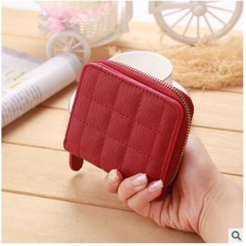 Women Ladies Wallet Leather Zip Coin Purse Clutch Handbag Small Mini Card Holder Card Key Holder Zip Coin Purse Clutch Bag фото