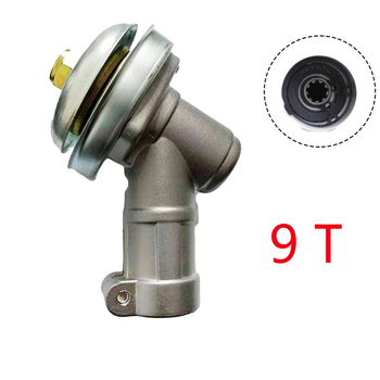 7 9 Teeth Trimmer Gearbox Gearhead 26mm 28mm Brushcutter Grass Trimmer Replace Gear Head Lawn Mower Parts Garden Power Tools - 28mm, 9T