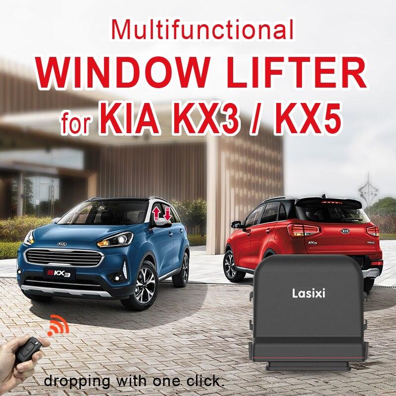 Original car power window close/open system all for KIA KX3 KX5 windows roll up automatically Intelligent Window Closer     - title=