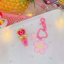 Японский милое розовое платье с принтом «сердечки» для маленькой