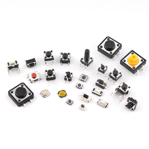 Image 5 - 125pcs/lot touch switch/Micro Switch /push buttons switches 25 Types Assorted kit 2*4/3*6/4*4/6*6 for DIY Tool package