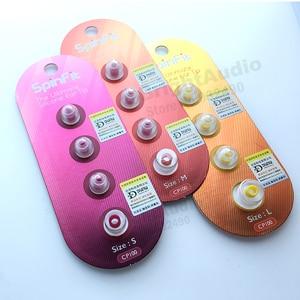 Image 2 - DUNU SpinFit CP100 CP800 CP145 (1 بطاقة) براءة اختراع 360 درجة دوران الحرة سيليكون سماعات الأذن CP100 CP 100 CP 145 (2 أزواج) CP 800