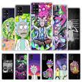 Ricks милый прозрачный чехол Mortys для Samsung Galaxy A51 A71 M30s A31 A21s A41 A11 A91 M51 M31, матовый мягкий чехол для телефона