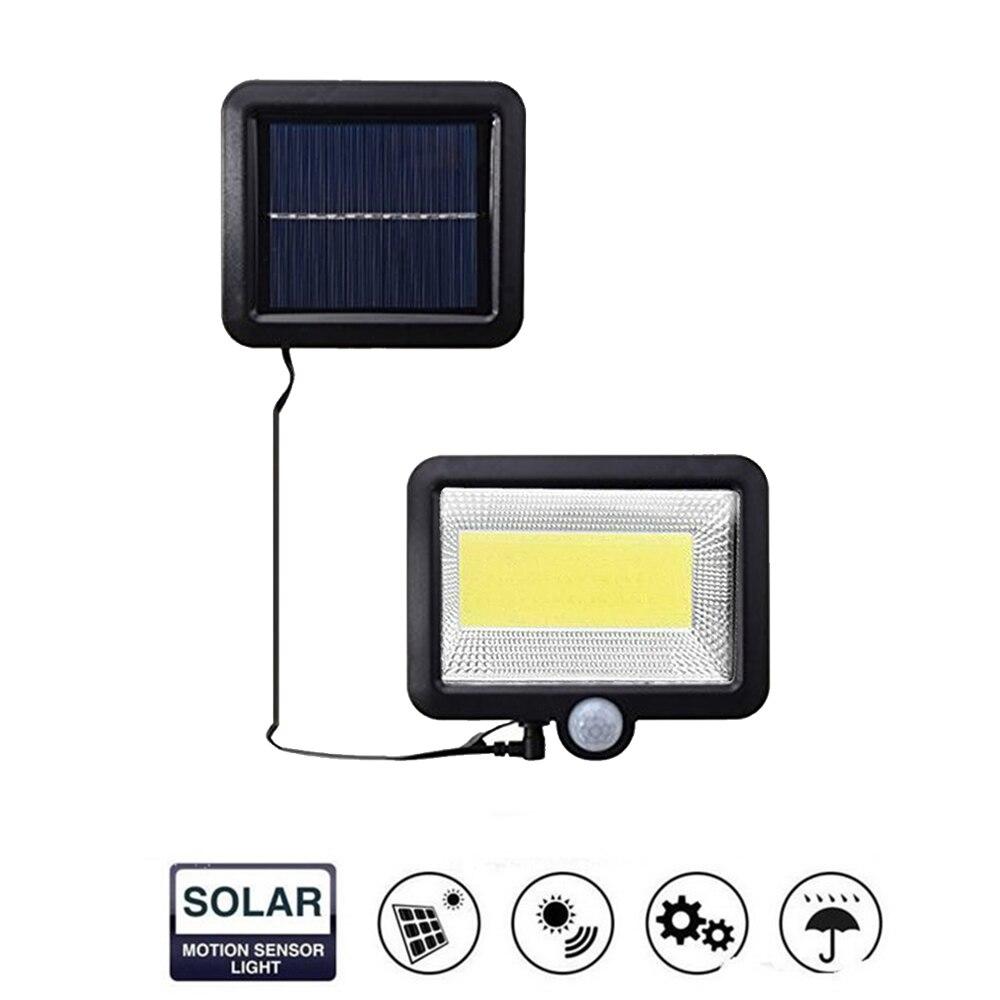 56/30 LED White Solar Motion Sensor Separable Wall Light Solar Powered Wireless Light IP65 Waterproof For Garden Split Mount 5M