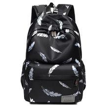 Водонепроницаемый подростки студент женский рюкзак школьные