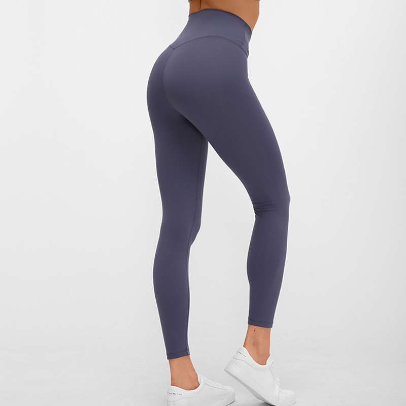 2020 Women Tight Sports Capri Sexy Yoga Tummy Control Legggings 4 Way Stretch Fabric Non See Through Quality Free Shipping