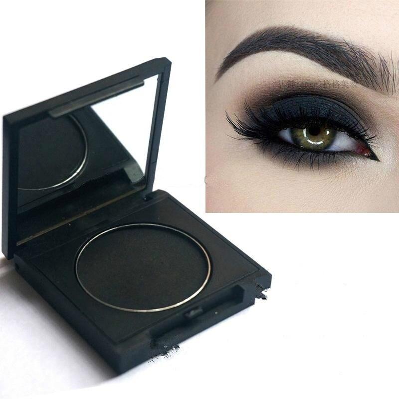 Новые матовые черные тени для век, легко носить, макияж, тени для век, косплей, сценический макияж, макияж глаз
