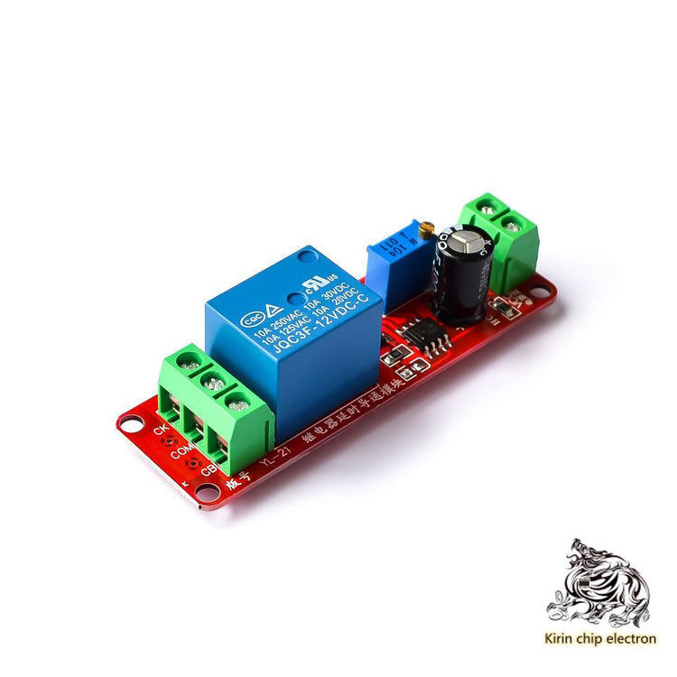 10PCS/LOT NE555 Delay Module Monostable Switch Delay On-off Switch (12V) Automotive Electrical Delay