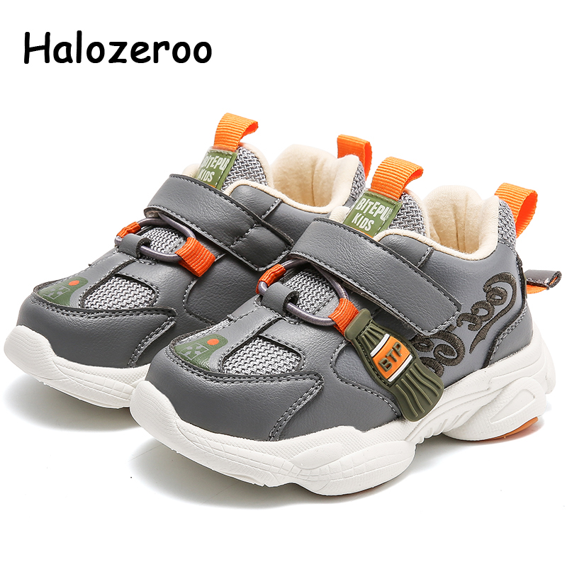 2020 Spring Kids Sport Sneakers Baby Girls Casual Sneakers Children Gray Brand Shoes Toddler Boys Mesh Chunky Sneakers Trainers