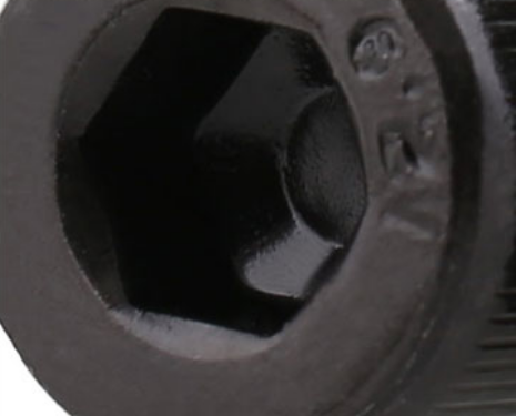 M4*6/8/10/12/16/20/25/30mm DIN912 Grade 12.9 Alloy Black Steel  Hexagon Socket Head Cap  Furniture Screws