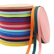 1 см 2 см Разноцветные елочные ленты хлопок тканая лента шитье оверлок ткань ремень DIY Аксессуары 3 метра