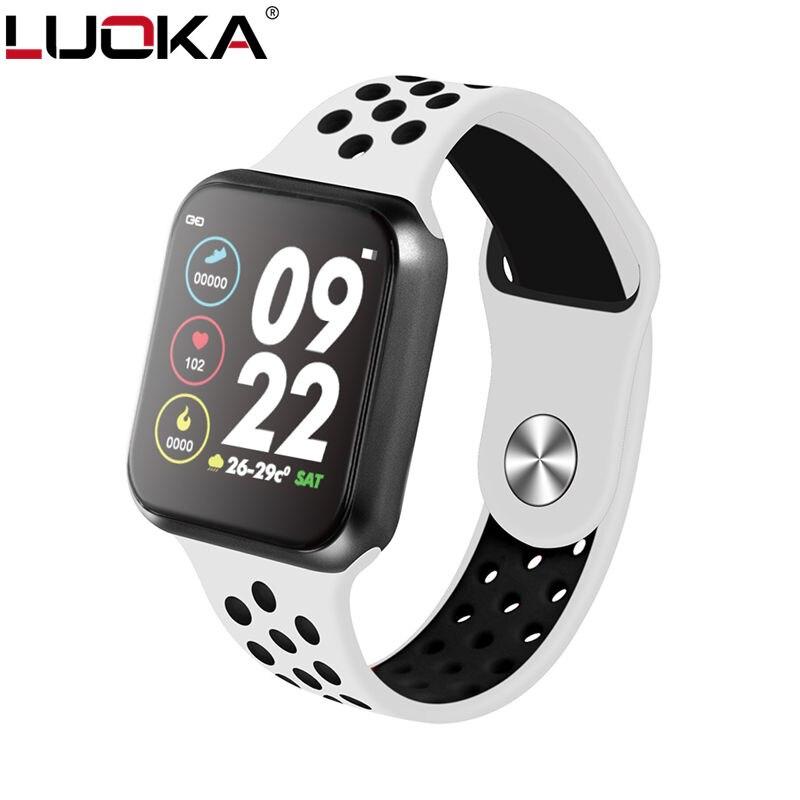F9 montres intelligentes montre IP67 étanche 15 jours longue veille fréquence cardiaque pression artérielle Smartwatch Support IOS Android PK F8 s226