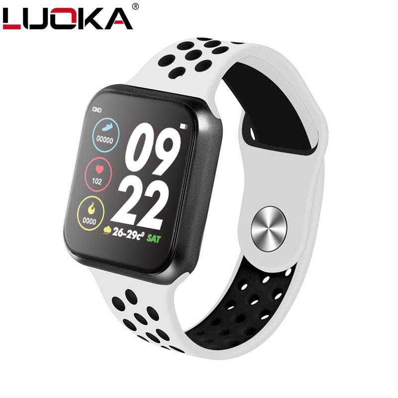 F9 Smart Watches Watch IP67 Waterproof 15 Days Long Standby Heart Rate Blood Pressure Smartwatch Support IOS Android PK F8 S226