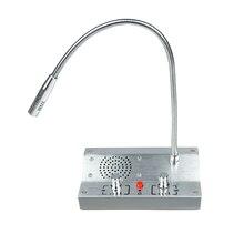 Bezpieczeństwo w domu angielska wersja Dual way Intercom systemu dla banku licznik kasie szpitala okno domofon System PA