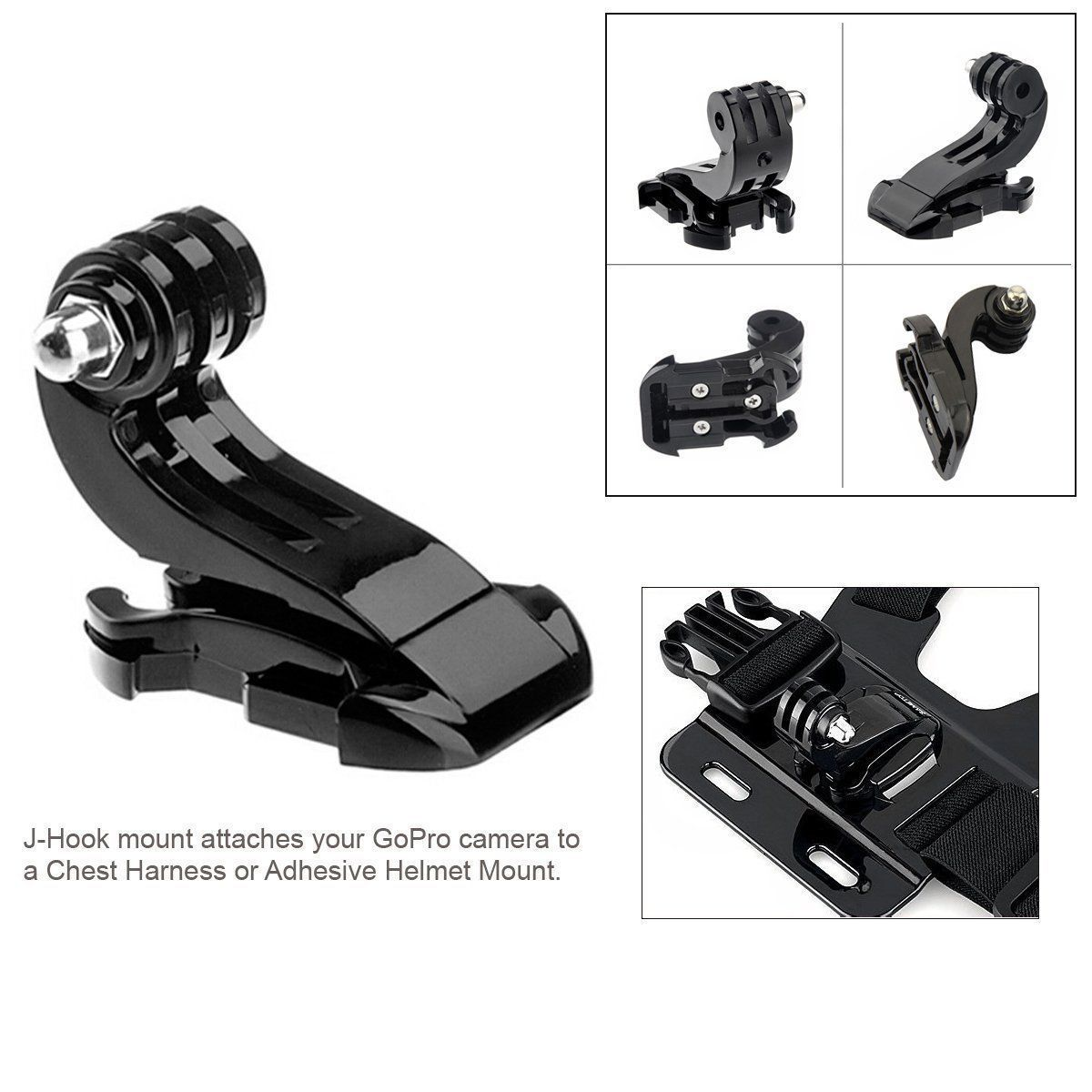 Chest Strap Mount Belt for Gopro Hero 9 8 7 6 5 Xiaomi Yi 4K SJCAM SJ4000 Action Camera Gopro Accessories Chest Mount Harness-3