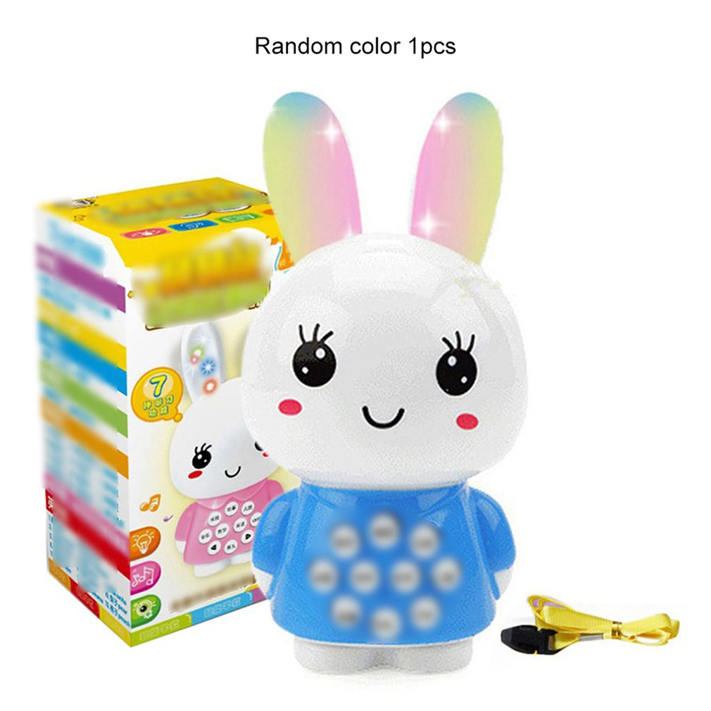 Baby Early Learning Educational Toys Creative Little White Rabbit Story Machine For Children Kids Fun Game Gifts