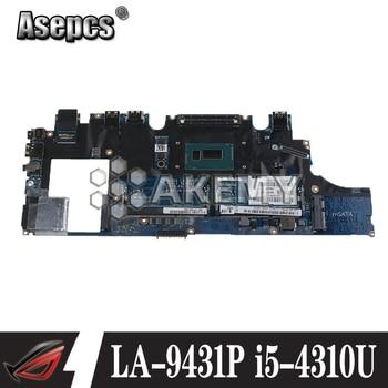 Laptop Motherboard VAZ50 LA-9431P For Dell Latitude E7240 Laptop Motherboard CN-0GMYR8 0GMYR8 GMYR8 i5-4310u Tested Good