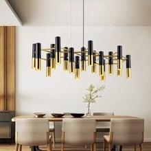 Post-modern LED chandelier ceiling Nordic Aluminum fixtures for bedroom restaurant living room home deco hanging lamp luminaires