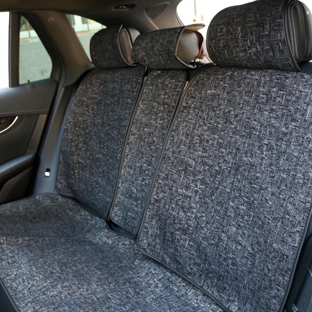 Image 5 - Universal Automobile Seat cover O SHI CAR Artificial Linen Seat Cushion Four seasons Mats For Most Vehicles Boutique Interior-in Automobiles Seat Covers from Automobiles & Motorcycles