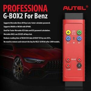 Image 4 - Autel G BOX2 เครื่องมือสำหรับMercedes Benz All Key Lostทำงานร่วมกับMaxiIM IM608/IM508