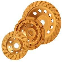KSEIBI יהלום שחיקה גלגל זווית מטחנות גלגל חיתוך כוס גלגלי מסור להב 105/115/125/180mm מלט בטון אריח מטחנות