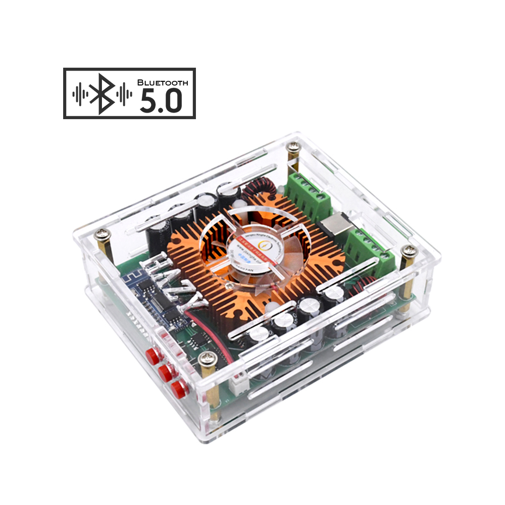 AIYIMA TDA7850 Bluetooth 5.0 Power <font><b>Amplifier</b></font> Board 50Wx4 <font><b>Car</b></font> <font><b>Audio</b></font> Amp Board Class AB Analog Circuit BTL <font><b>Amplifiers</b></font> For <font><b>DIY</b></font> image