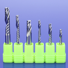 1pcs AAA TOP Single Flute Spiral Cutter CNC End Mill Carbide router bit For Acrylic PVC MDF Milling Cutter 5pcs shank 4mm cel 42mm long cutter spiral bit router tool one flute mdf carving frezer 1lx442