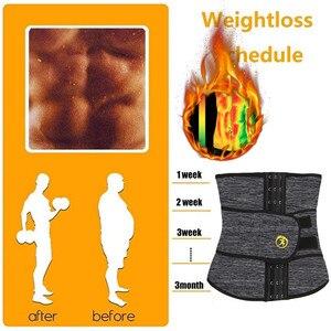 Image 3 - Ningmi Mannen Taille Trainer Met Pocket Neopreen Man Shaper Cincher Corset Mannelijk Lichaam Modellering Riem Afslanken Riem Fitness Shapewear