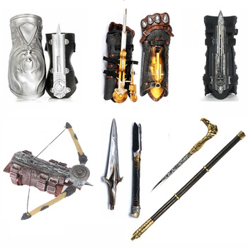 Hidden Blade Sleeve Sword Action Figure Assassins Hidden Blade Edward Weapons Sleeves Swords Can The Ejection Kids Toy Gift цена 2017