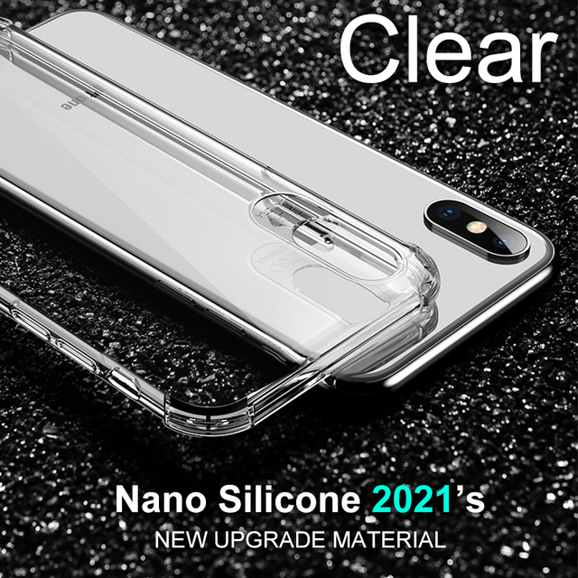 Thick Shockproof Silicone Phone Case For iPhone 12 11 Pro Xs Max lens Protection Case on iPhone X Xr 6s 7 8 Plus case Back Cover 4