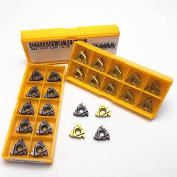 Cutting Thread Insert 16IR 16ER AG55 UE6020 VP15TF US735 16IR 16ER AG60 Carbide Insert CNC Lathe Slotted Thread Insert 16IR 16ER