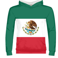 THE UNITED STATES OF MEXICO male custom name number mex zipper sweatshirt nation flag mx spanish mexican print photo clothing