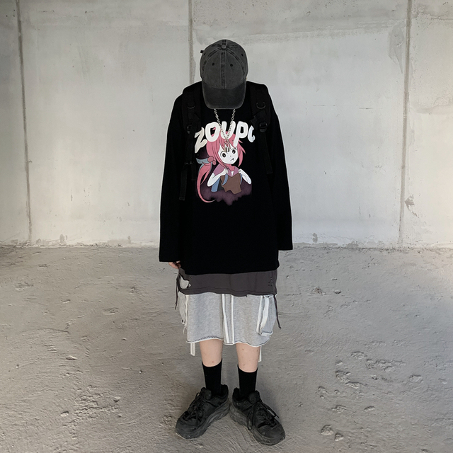 Фото индивидуальная горячая распродажа футболка harajuku с принтом