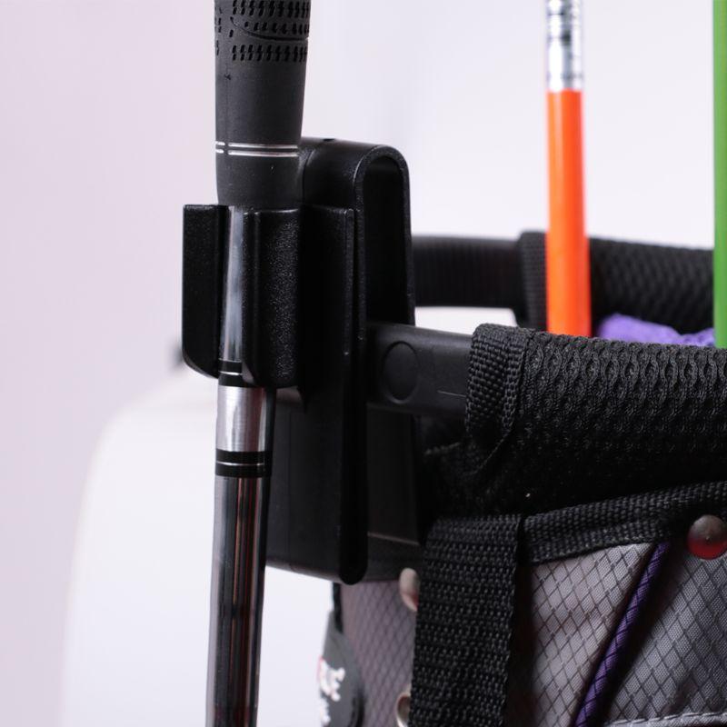 Golf Putter Bag Clip On Putter Clamp Holder Putting Organizer Club Ball Marker 2 Pcs Golf Accessories Good Quality